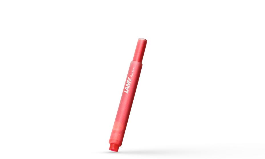 Картриджи Lamy Lamy Т10, красные, 5 шт  1602076