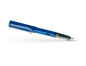 Перьевая ручка Lamy Al-star, сталь, пластик, синий  4000318