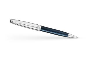 Шариковая ручка Montblanc Meisterstuck Solitaire Blue Hour Classique, драгоц  112895