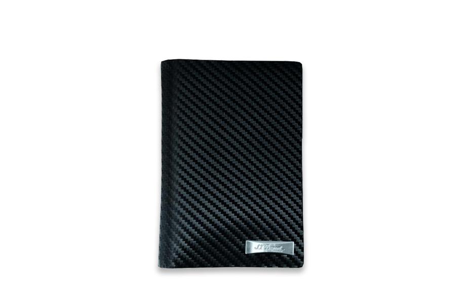 Чехол для автодокументов S.T. Dupont Defi Carbon, кожа, черный  170038RU 170038RU