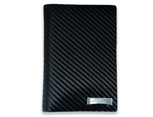 Чехол для автодокументов S.T. Dupont Defi Carbon, кожа, черный  170038RU