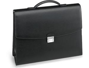 Портфель Montblanc Sartorial, два отделения, черный  113175