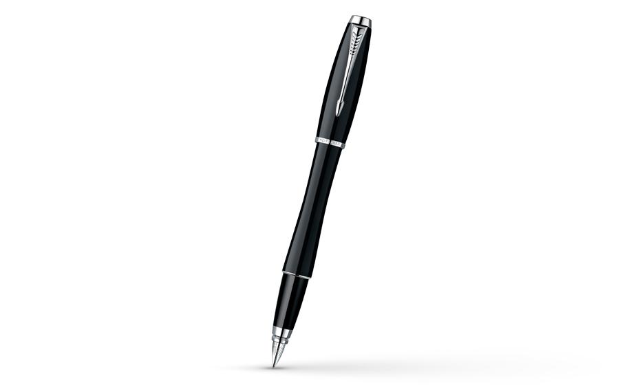 Перьевая ручка Parker Urban London Cab Black CT, нержавеющая сталь, черн  S0850680