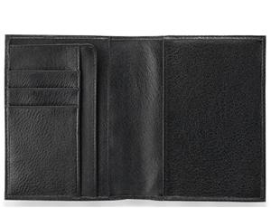 Обложка для паспорта Piquadro Piquadro, черная  PPP1660MO/N