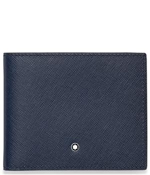 Бумажник Montblanc Sartorial, кожа, 2 отделения для банкнот, 6 отделе  113217