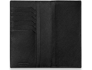 Бумажник Montblanc кожа, 2 отделения для банкнот, 6 отделений для кре  113219