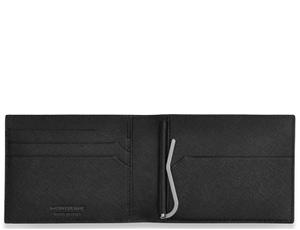 Бумажник Montblanc с зажимом для банкнот, Sartorial, кожа, 2 отделени  113221