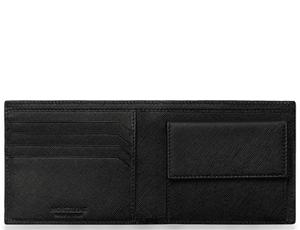 Бумажник Montblanc с отделением для монет, Sartorial, кожа, 2 отделен  113222