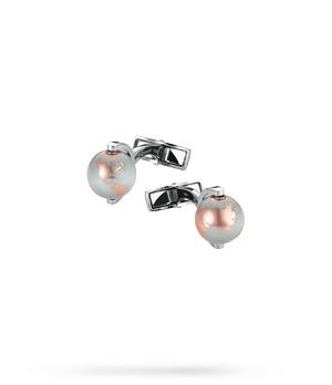 Запонки Montblanc Iconic, сталь, 12,3 мм  112999