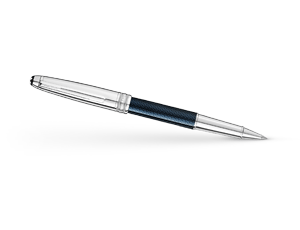 Чернильная ручка Montblanc Meisterstuck Solitare Doue Blue Hour Classique  112894