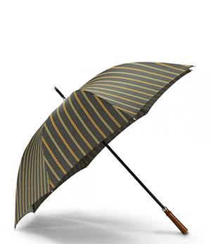 Зонт Dalvey Dalvey, трость, спорт, тафта, клен, черный с зелен  3123