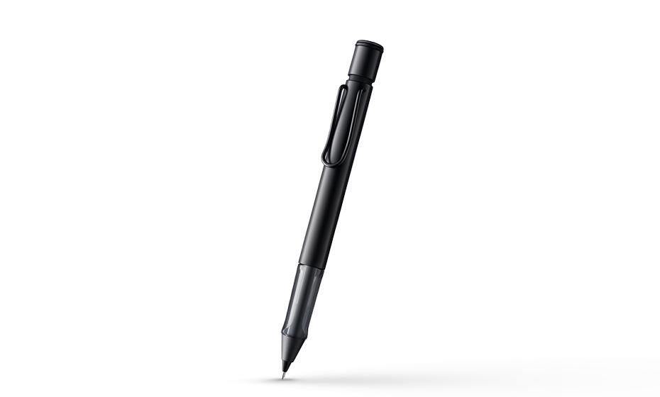Карандаш автоматический Lamy двухслойный корпус пластик-алюмний, цвет черный, арт. 4029627