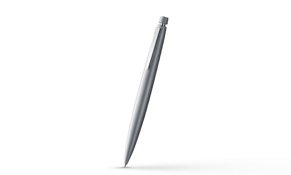 Карандаш автоматический Lamy карандаш в стиле баухаус, матовая сталь, брашинг-п  4029624