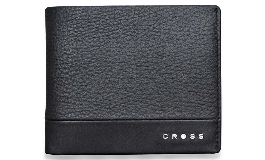 Портмоне Cross Cross Nueva, кожа, черное  AC028121-1