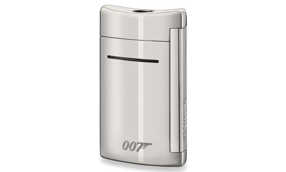 Зажигалка S.T. Dupont Minijet James Bond 007 Spectre, хром  10095