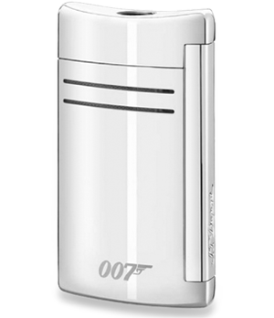 Зажигалка S.T. Dupont MaxiJet James Bond 007 Spectre, хром  20162N