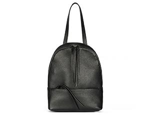 Рюкзак Avanzo Daziaro GRAIN, на молнии, телячья кожа, черный  AD-018-101301'
