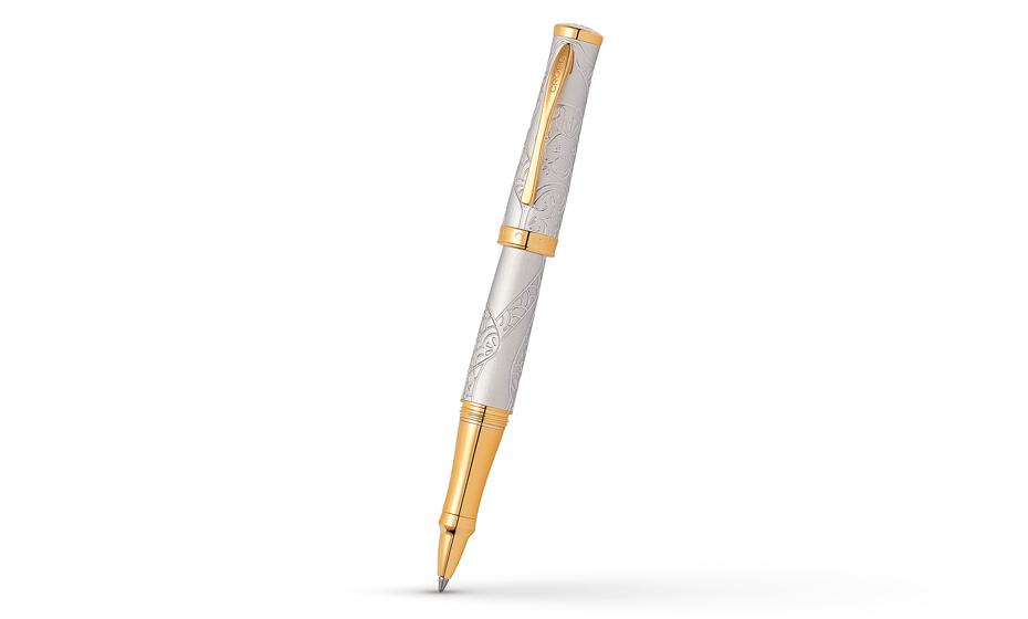 Чернильная ручка Cross Год Обезъяны, ювелирная латунь с платиновым покрыт  AT0315-21