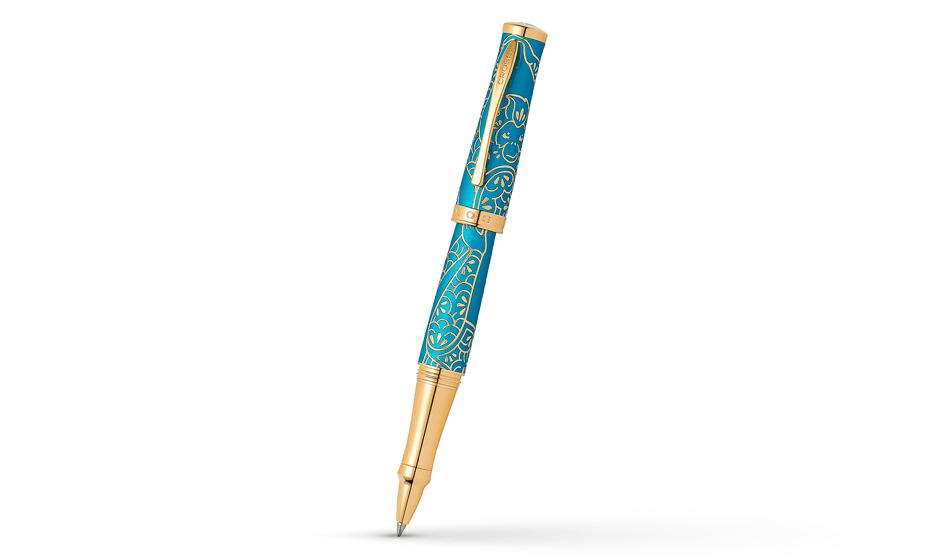 Чернильная ручка Cross Год Обезъяны, драгоценная смола, позолота.  AT0315-22