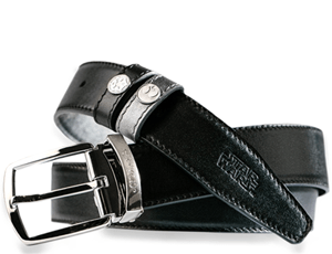 Ремень S.T. Dupont Star Wars, кожа, черный/серебристый  8210158