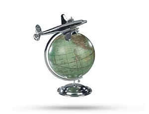 Самолет Authentic Models Латунь, хромированное покрытие, 22*26,5*31 см  AP108