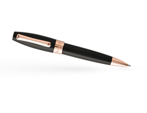 Шариковая ручка Montegrappa Fortuna черная/позолота  FORT-R-BP