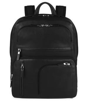 Рюкзак Piquadro SPOCK, с отделением для IPad, 31x38.5x14 см, кожа,  PCA3657S80/N