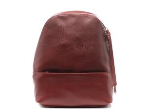 Рюкзак Avanzo Daziaro с ручкой, кожа, красный  AD-018-101304'