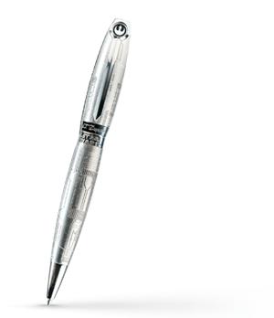 Шариковая ручка S.T. Dupont STAR WARS, керамика, палладий  255682