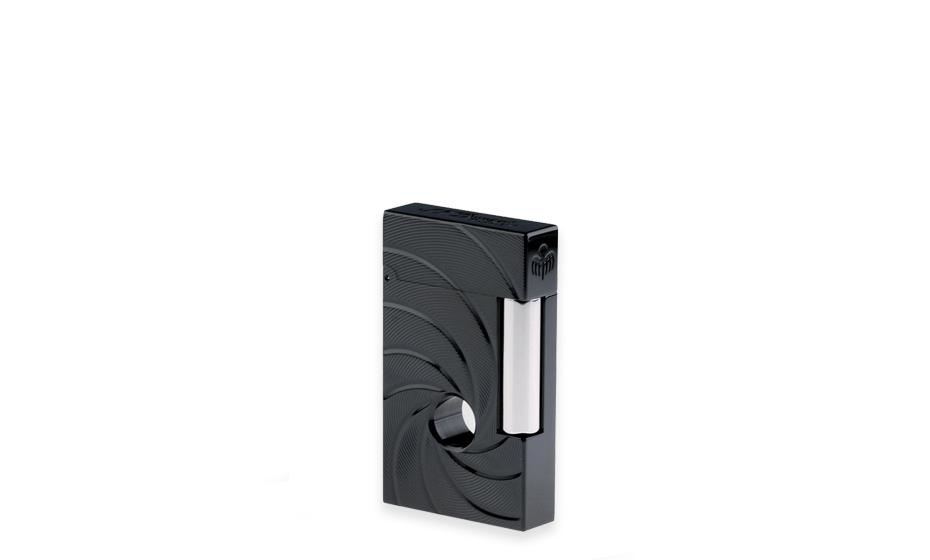 Зажигалка S.T. Dupont Дж.Бонд Спектр, черное PVD-покрытие, потайное отде  16157