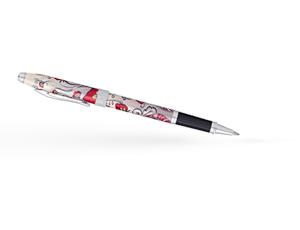 Чернильная ручка Cross Botanica Красная Колибри, оригинальный рисунок