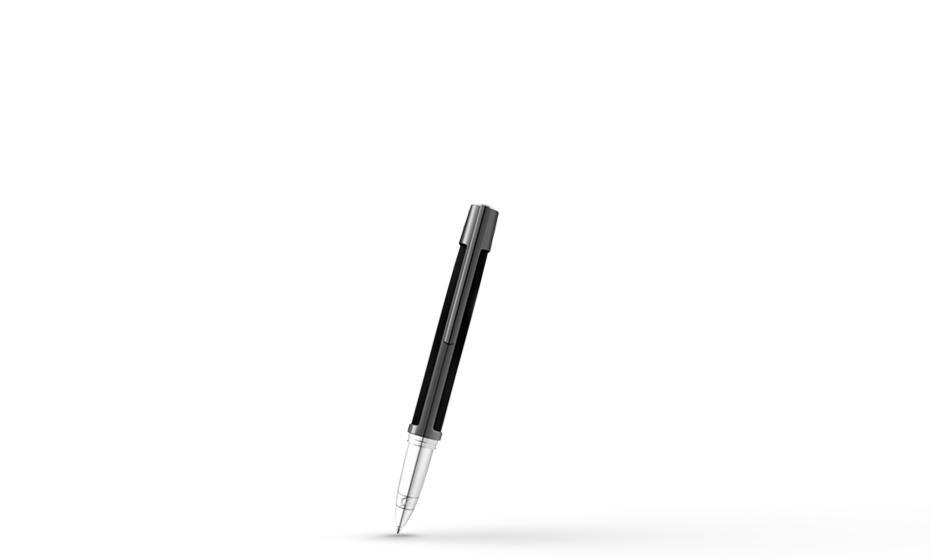 Чернильная ручка S.T. Dupont Defi, темно-серый металл, композитный материал, па  402707