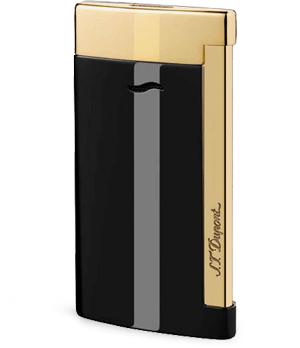 Зажигалка S.T. Dupont Slim 7, лак, золото, толщина 7 мм, вес 45 грамм  27708