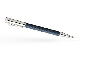 Шариковая ручка Graf von Faber-Castell TAMITIO NIGHT BLUE, металл, матовый темно-синий ла  141583