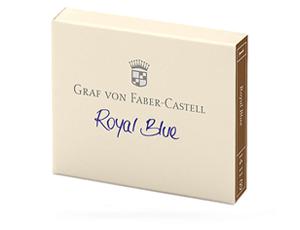Картриджи Graf von Faber-Castell Graf von Faber-Castell Royal Blue, с чернилами, ко  141109