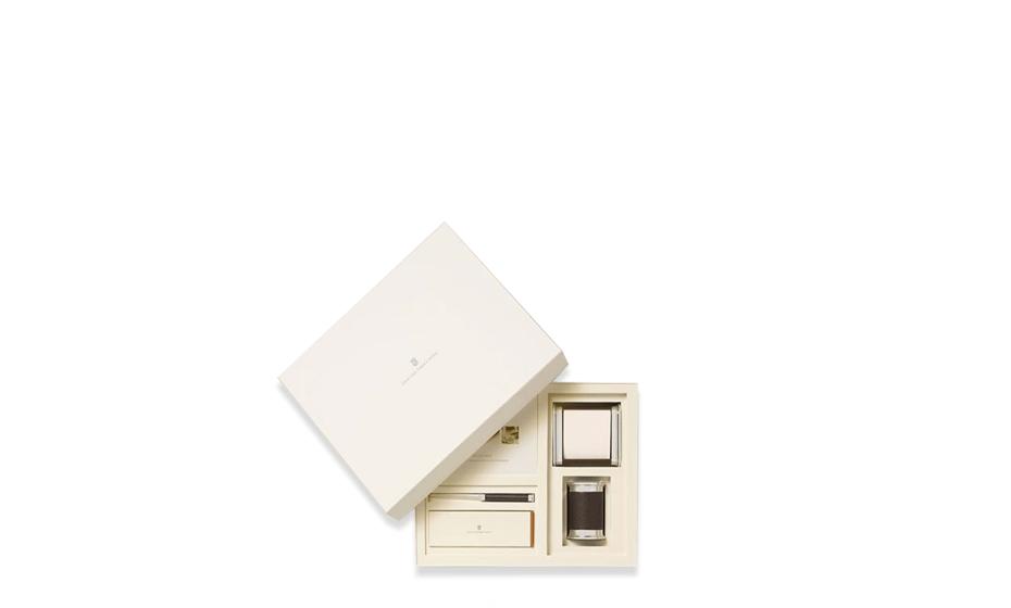 Набор настольных принадлежност Graf von Faber-Castell Graf von Faber-Castell, малый, полированный металл  118578