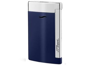 Зажигалка S.T. Dupont Slim 7, синий лак, хром, 45 гр, 7 мм  27709