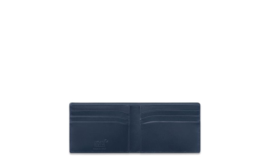 Бумажник Montblanc Montblanc, кожа, синий  114542