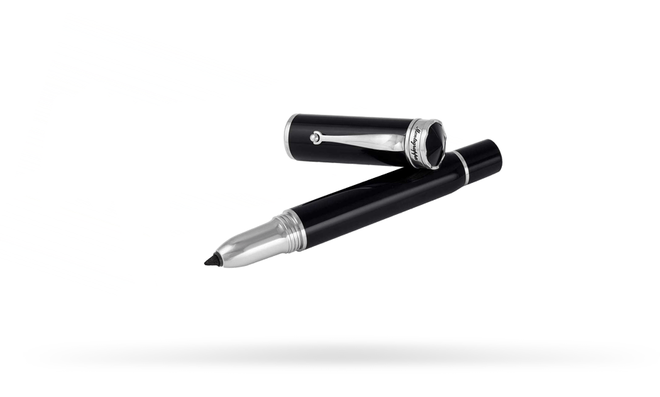 Маркер Montegrappa Ducale Marker,смола, черный, палладий  DUCM-C