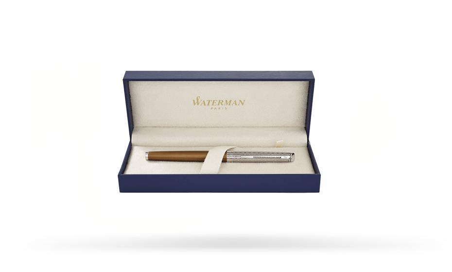 Перьевая ручка Waterman Waterman Hemisphere Deluxe Privee, лак, бронзовый,  1971619 3501179716190