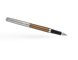 Перьевая ручка Waterman Waterman Hemisphere Deluxe Privee, лак, бронзовый,  1971619