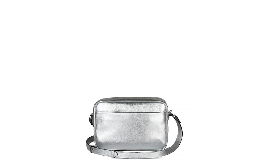 Сумка Avanzo Daziaro Avanzo Daziaro, с плечевым ремнем, серебряная  AD-018-1016S'