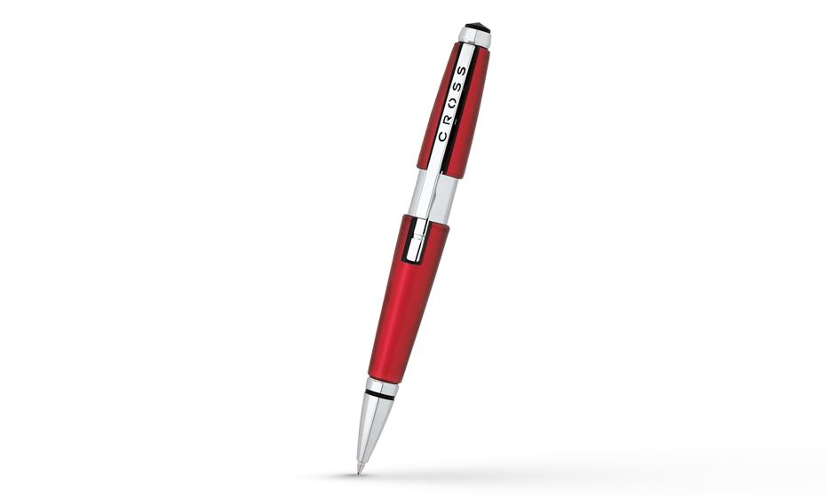 Чернильная ручка Cross Townsend корпус с платининовым покрытием, арт. AT0555-7