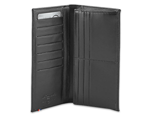 Бумажник S.T. Dupont удлиненная форма, кожа, 18 x 9,5 см  180046