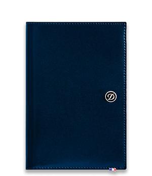 Обложка для паспорта S.T. Dupont S.T. Dupont, кожа, синий  180912
