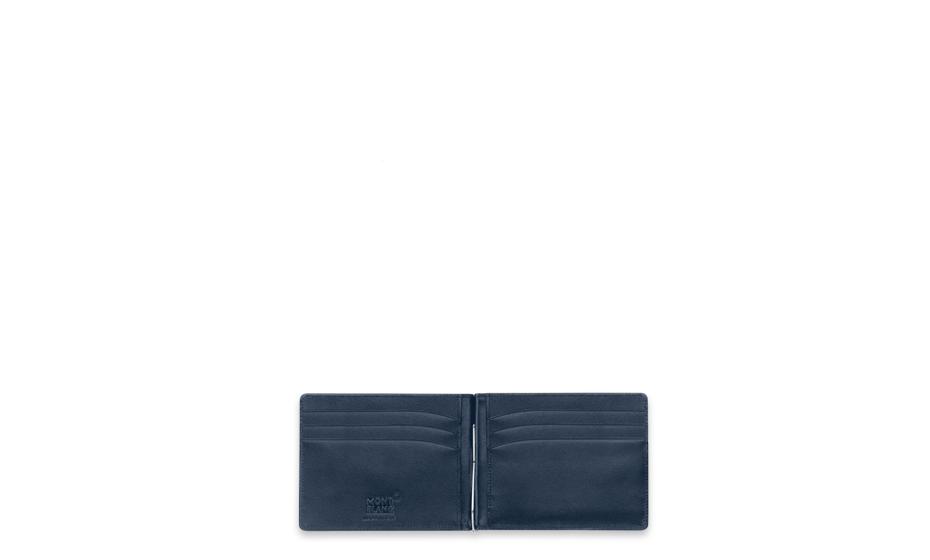 Бумажник Montblanc Meisterst?ck, с зажимом для купюр, малый, синий  114548