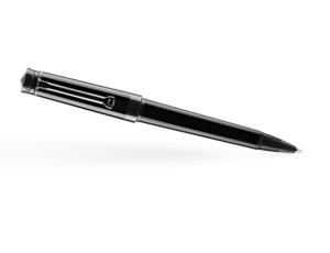 Шариковая ручка Montegrappa PAROLA Stealth, черная  PAROLA-ST-BP