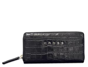 Кошелек Cross Bebe Coco, кожа под крокодила, черный  AC578287-1