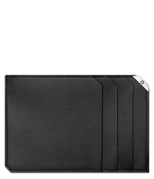Чехол д/карт Montblanc Montblanc, кожа, черный  114676