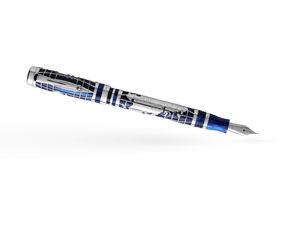 Перьевая ручка Montegrappa Le Рубль, смола/серебро  RUBLE-FP